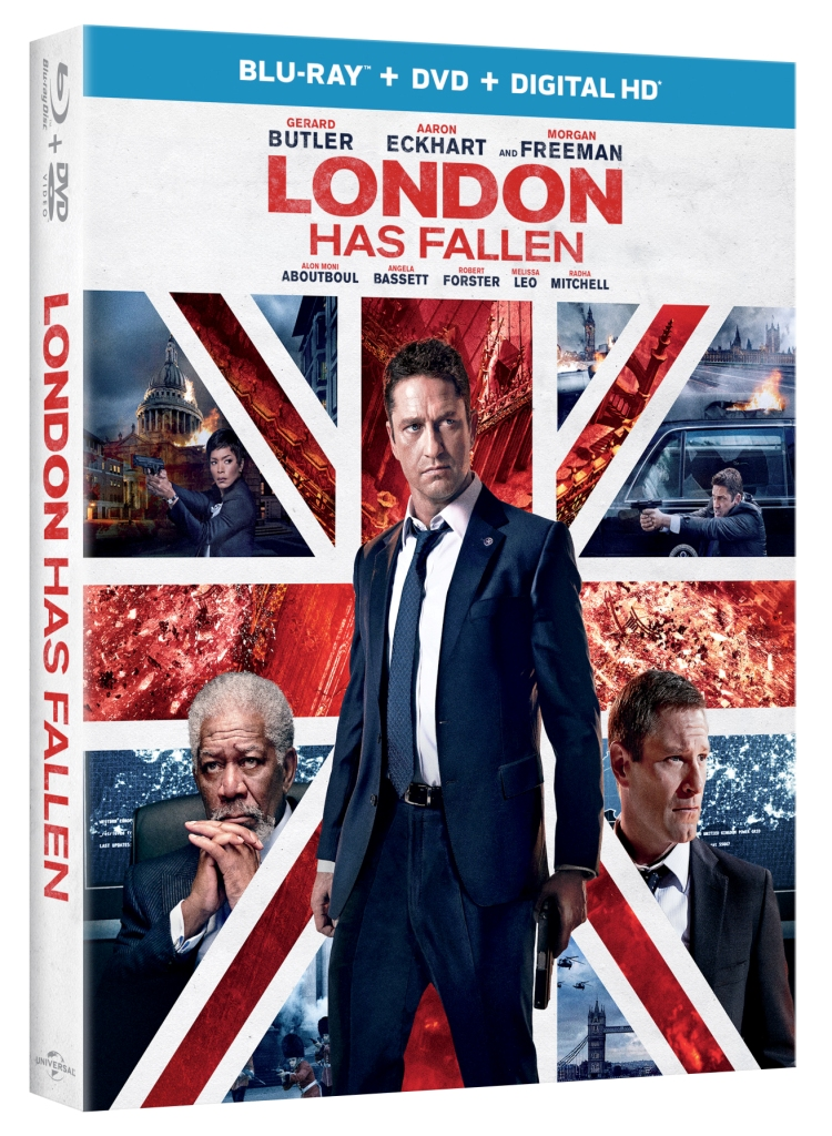GIVEAWAY: Win a copy of London Has Fallen on Blu-ray! {CONTEST ENDED}