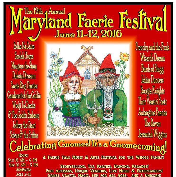 The 12th Annual Maryland Faerie Festival in Darlington – June 11 -12