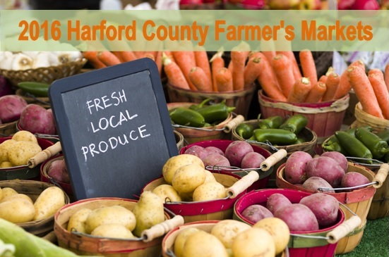 2016 Harford County Farmer's Markets