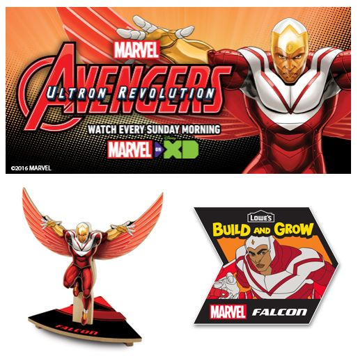 FREE Avengers Building Event at Lowe's – July 9