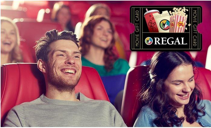 Half price deal for Regal Cinemas!