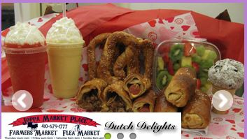 $10 for $20 Worth of Pretzels, Logs, Milk Shakes, Ice Cream at Dutch Delights in Joppa