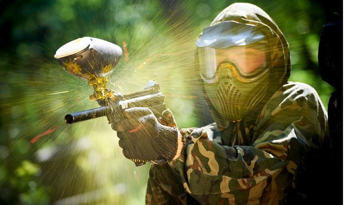 Paintball for Less than $9 Per Person at North East Adventure Paintball!
