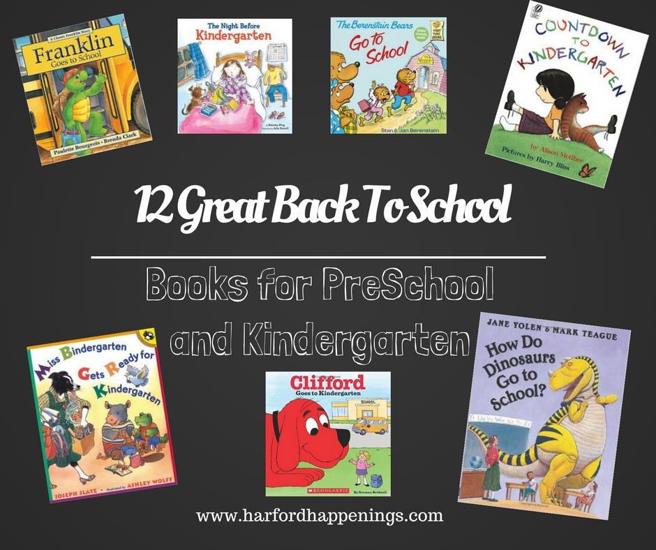 12 Great Back To School Books for Preschool and Kindergarten
