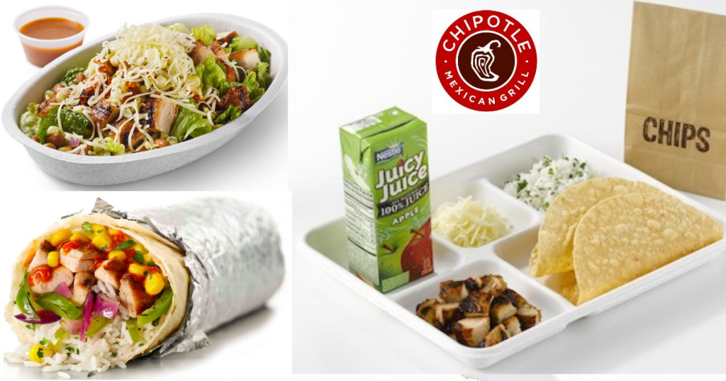 Kids Eat For FREE on Sundays at Chipotle!