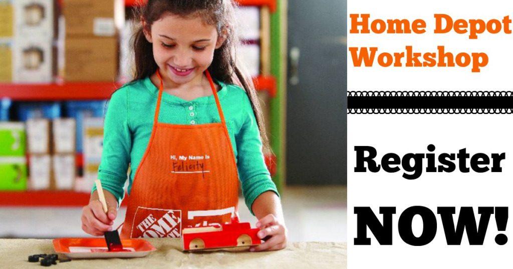 10.01.16 - Event - Home Depot Workshop