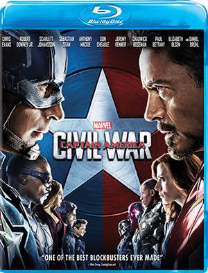 Enter to Win a Digital Copy of Marvel's Captain America: Civil War – Available on Blu-ray September 13