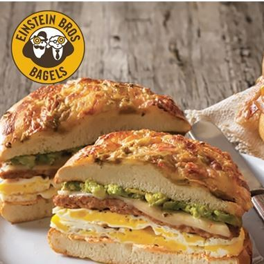 Save $5 at Einstein Bros Bagels in Bel Air!
