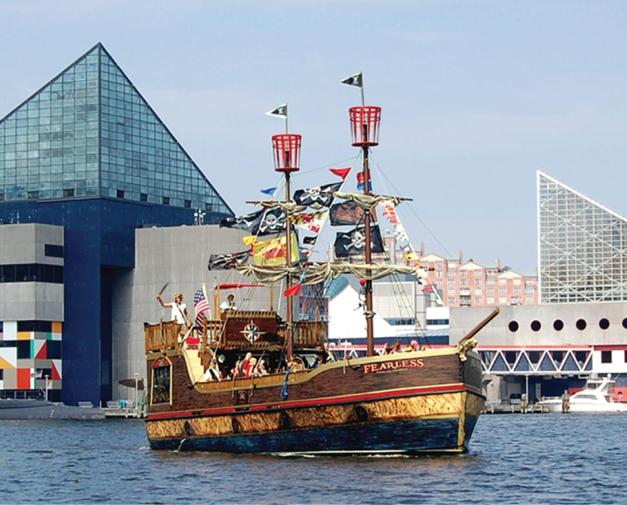 40% off Urban Pirates Family Adventure Cruise in the Inner Harbor!