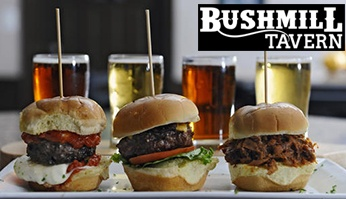 Local Deal: Half Price Dining at Bushmill Tavern in Abingdon