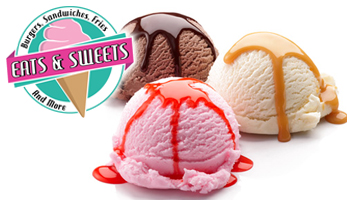 $8 for $16 for Sundaes, Soups, Salads, Sandwiches and more at Eats & Sweets in Pylesville