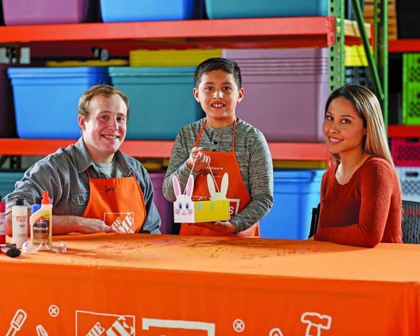 FREE Kids Workshop at Home Depot | Build a Bunny Basket – April 1