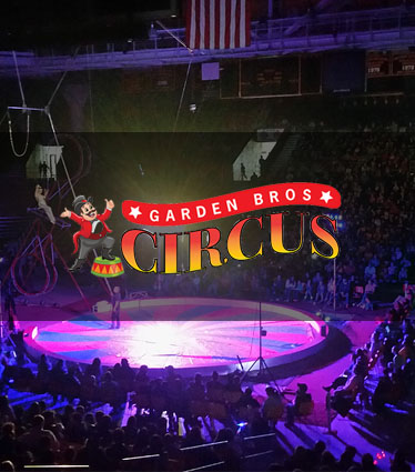 Discount Admission to Garden Brothers Circus at APGFCU Arena