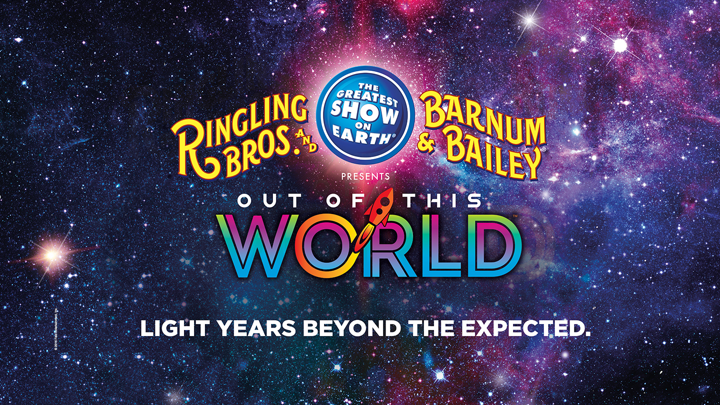 Win Tickets to Ringling Bros. and Barnum & Bailey Out of This World – April 20