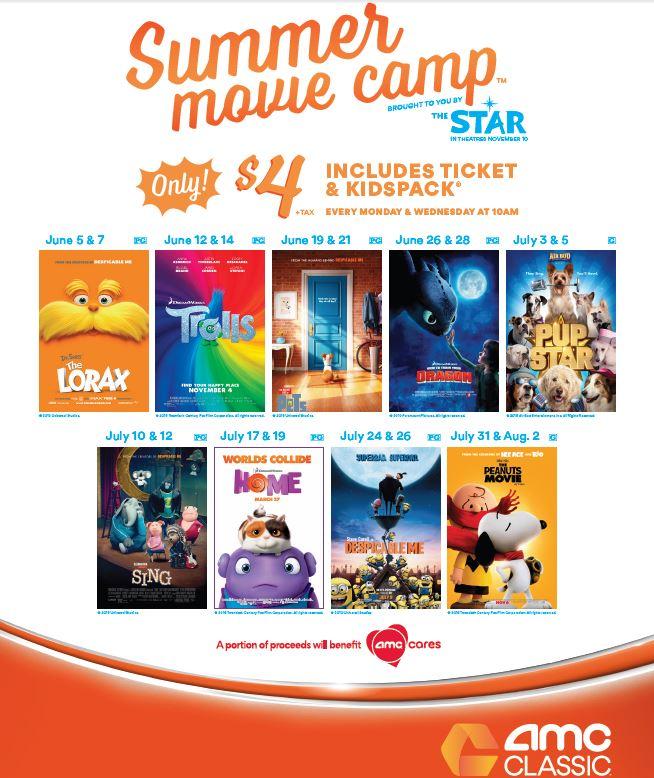 AMC Theater Summer Movie Camp: Pup Star