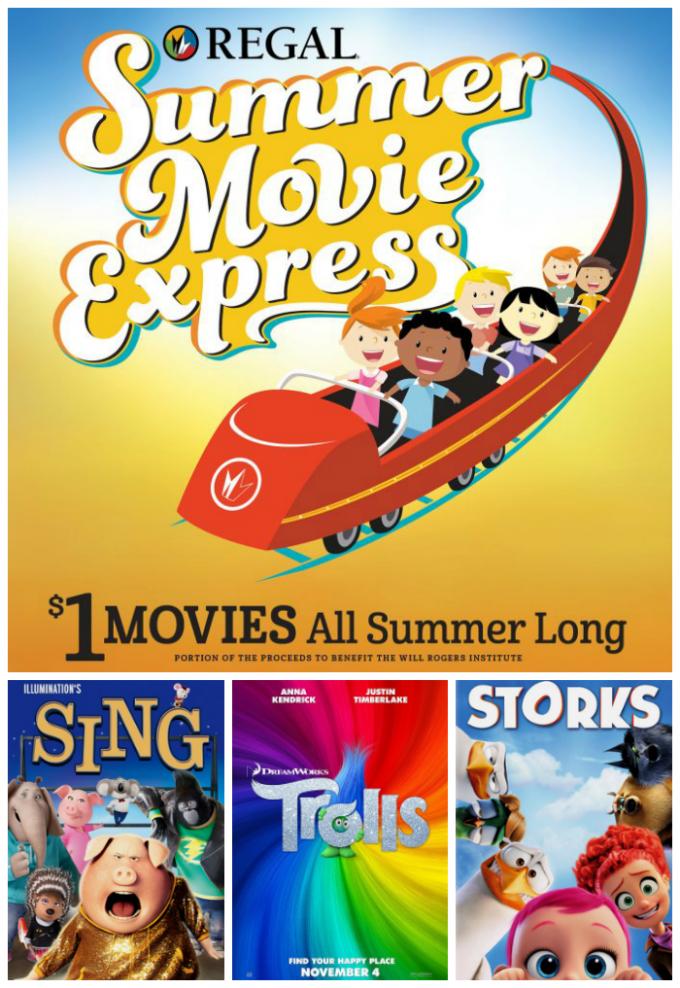 Summer Movie Express – $1 movies at Regal – Rio 2