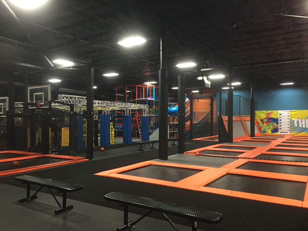 half price admission to urban air trampoline park in white
