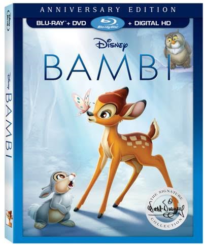 Enter to Win a Digital Download of Bambi! | Now Available on Blu-Ray + DVD + Digital HD