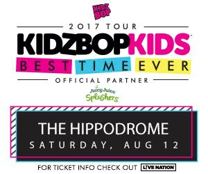 Enter to Win Tickets to Kidz Bop Kids at the Hippodrome – August 12