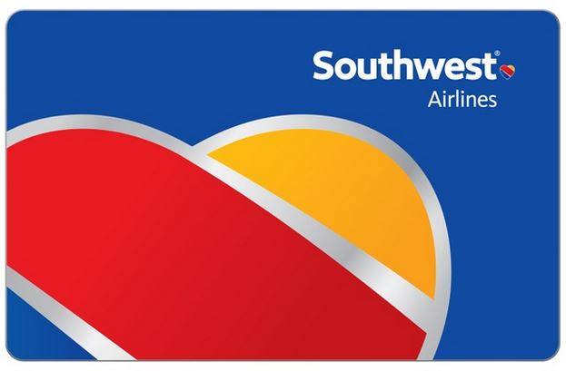 Save 10% on Southwest Airlines e-Gift cards!