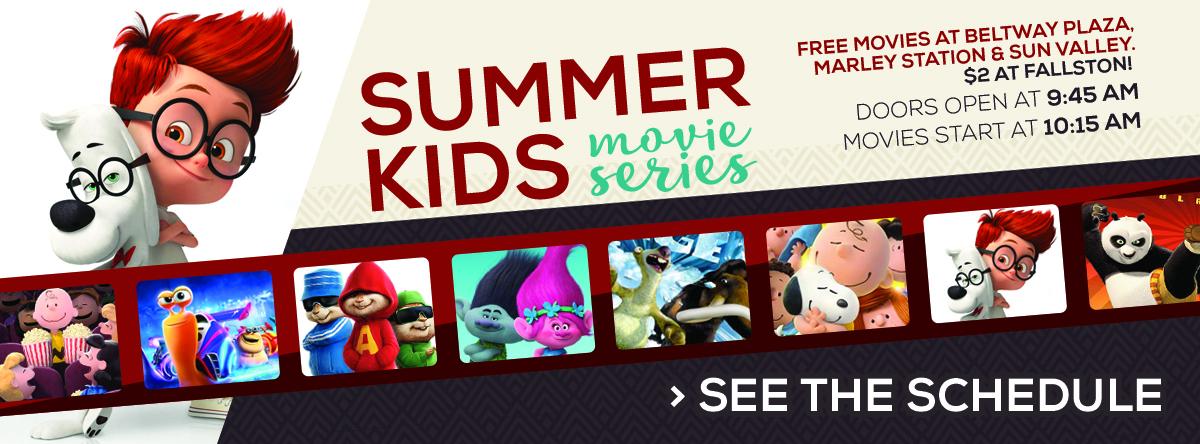 Horizon Cinemas Summer Kids Movie Series – $2 Movies!