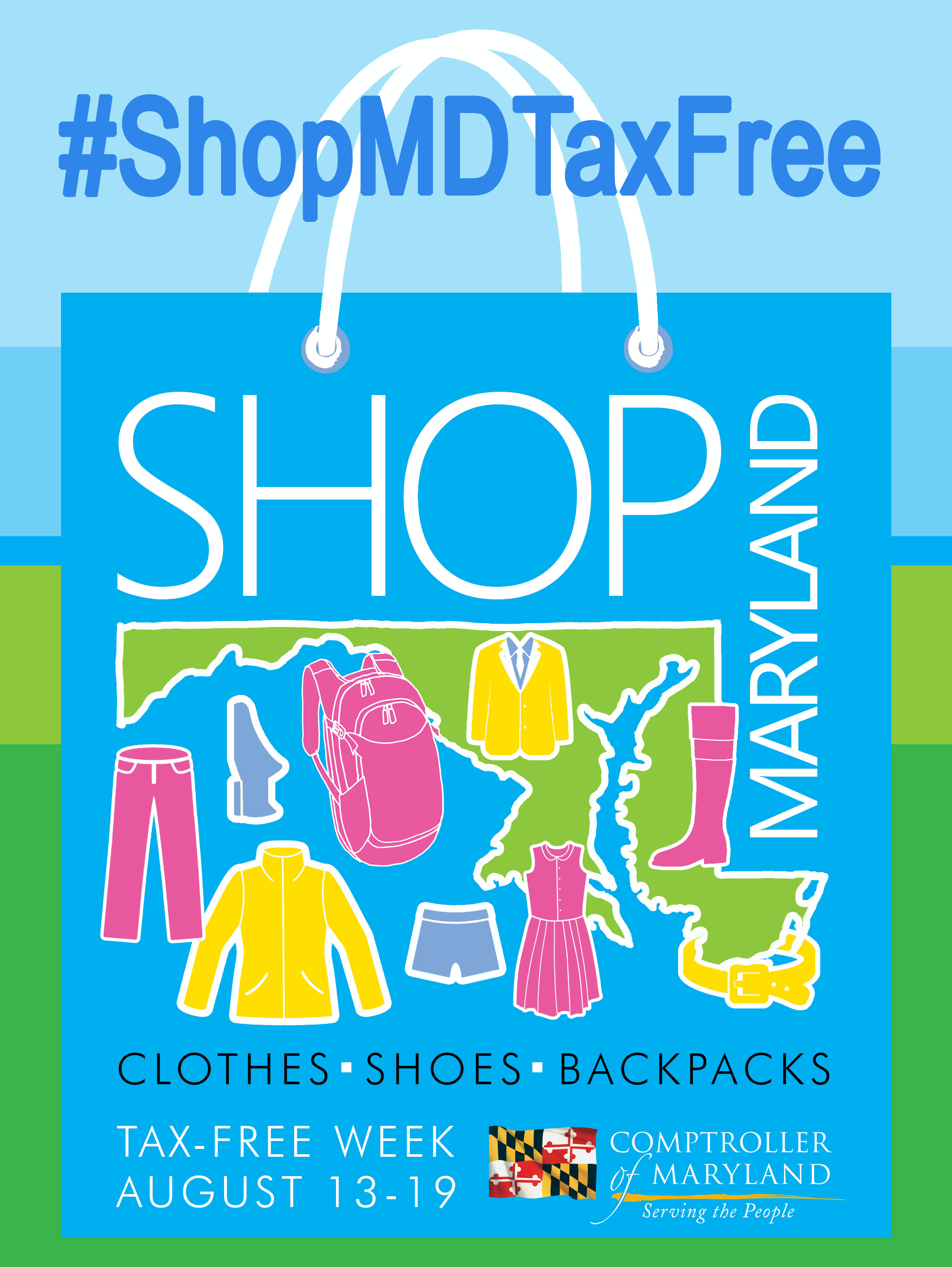 2017 Maryland Shop Tax Free Week | August 13-19