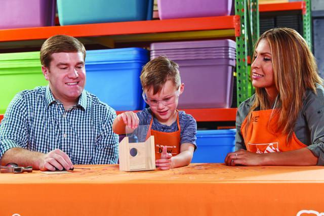 FREE Home Depot Kids Workshop: Build a Window Birdhouse