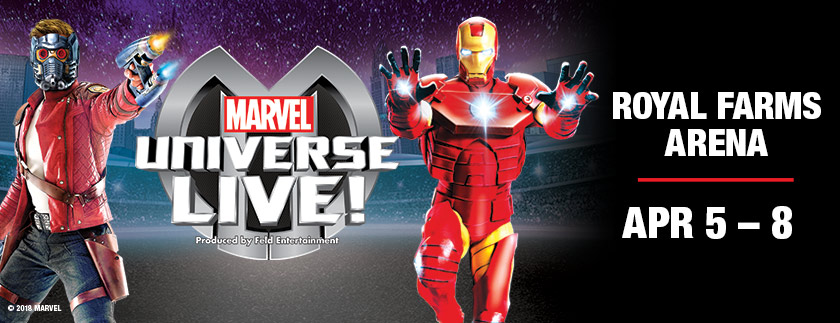 Marvel Universe Live! Age of Heroes Is Coming To Royal Farms