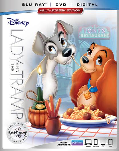 Enter to Win a Digital Copy of Disney's Lady & The Tramp
