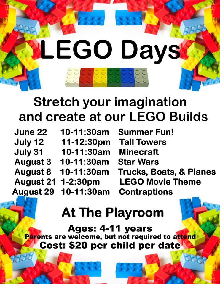 LEGO Days at The Playroom
