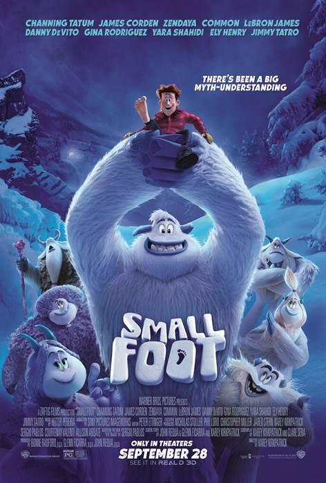 Enter For A Chance To Attend A Screening of Smallfoot at AMC Theaters in White Marsh