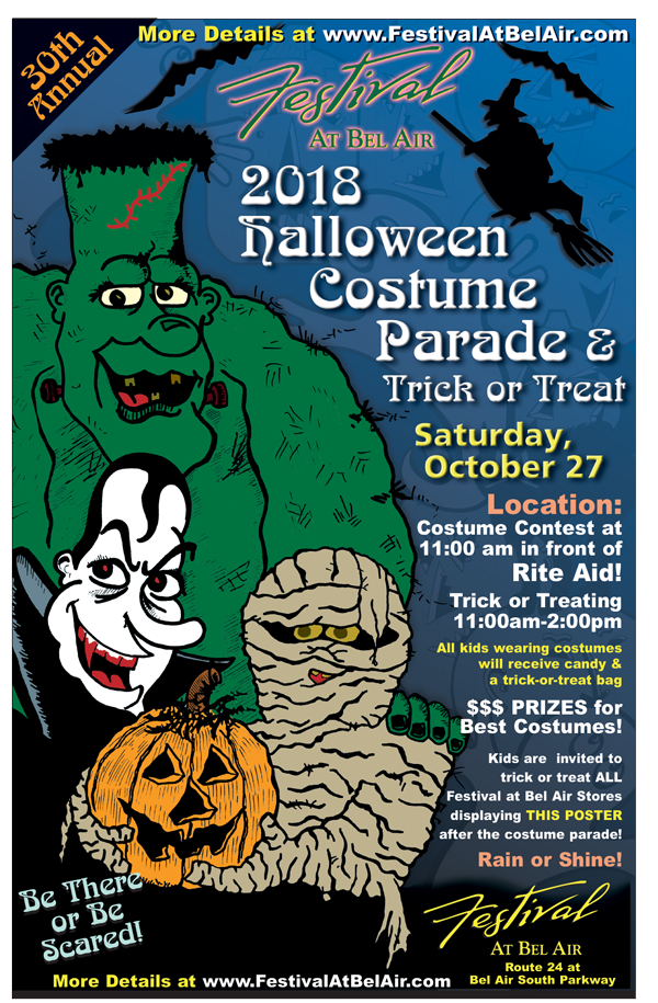 Halloween Costume Parade & Trick or Treat at Festival
