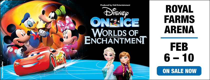Win Tickets to Disney On Ice Presents Worlds of Enchantment at Royal Farms Arena – Feb 6-10