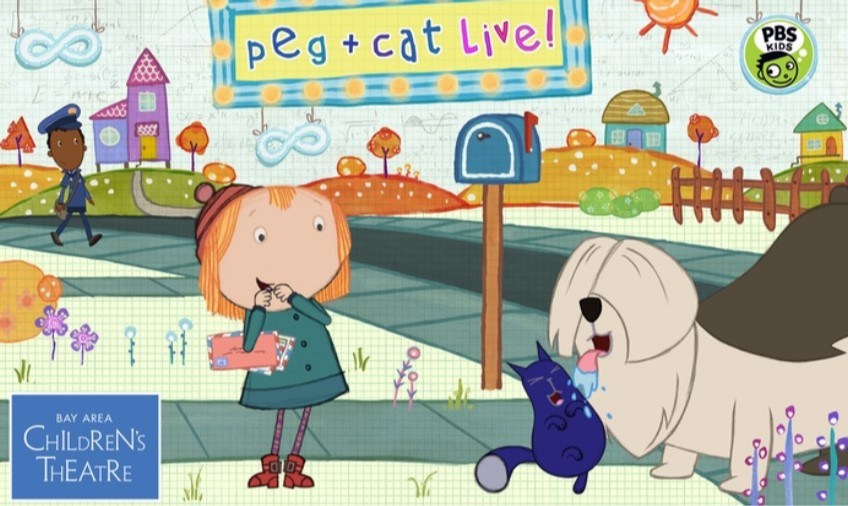 Get Tickets for Peg + Cat Live! at Harford Community College for only $12!