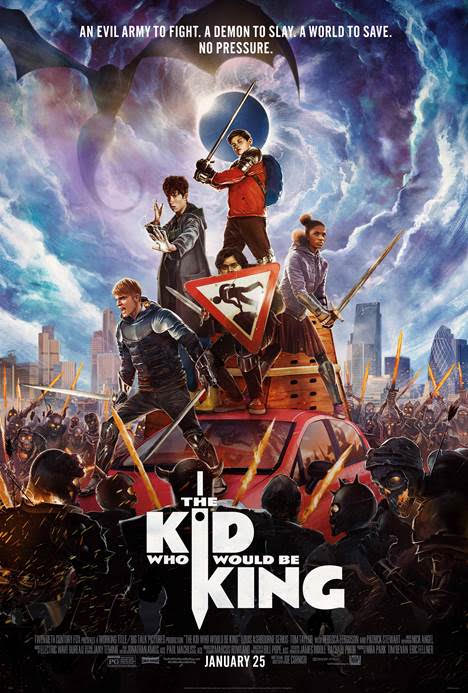 Enter For A Chance To Attend A Screening of The Kid Who Would Be King at AMC Theaters in White Marsh