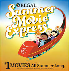 2019 Summer Movie Express – $1 Movies at Regal Cinemas!