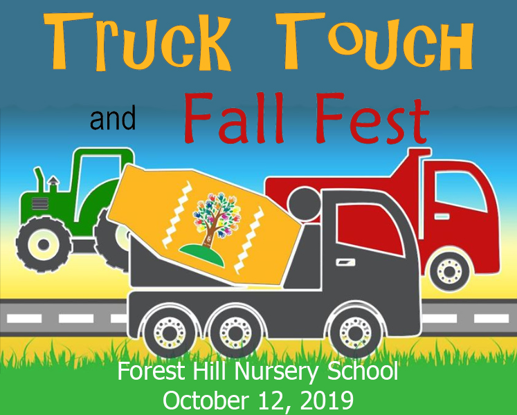 Forest Hill Nursery School to Hold a Truck Touch and Fall Fest on Oct. 12th