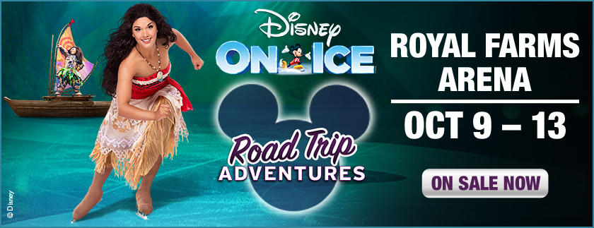 Win Tickets to Disney On Ice Presents Road Trip Adventures at Royal Farms Arena – Oct 9-13