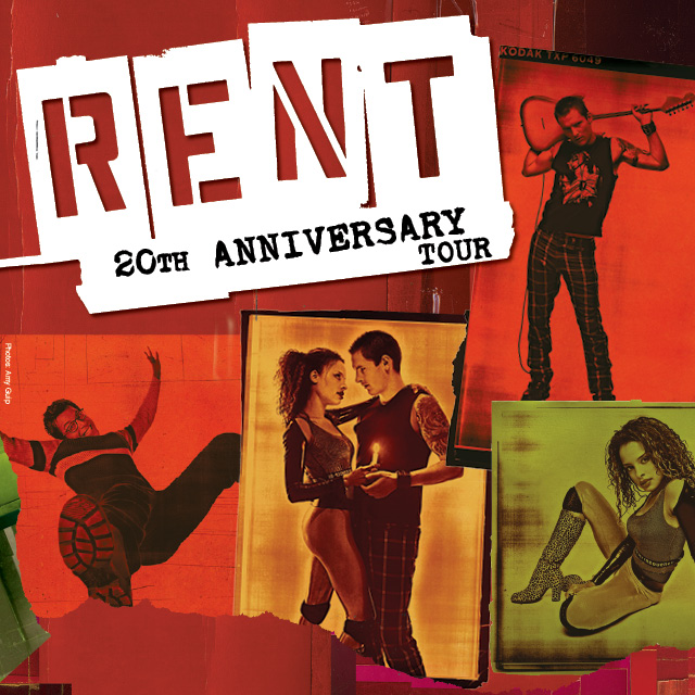 Enter to Win Tickets to RENT – 20th Anniversary Tour at National Theater in DC