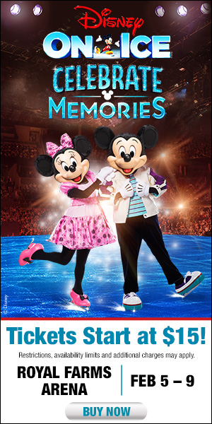 Win Tickets to Disney On Ice presents Celebrate Memories at Royal Farms Arena – February 5-9