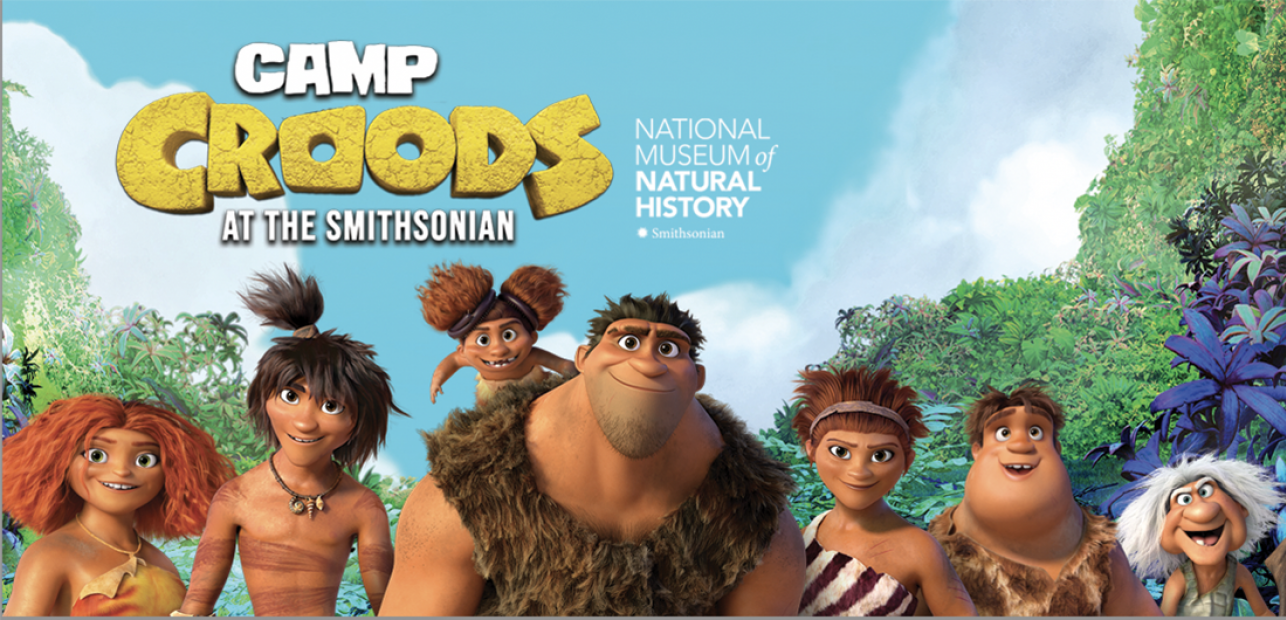 "Register for ""Camp Croods"" Virtual Field Trips"