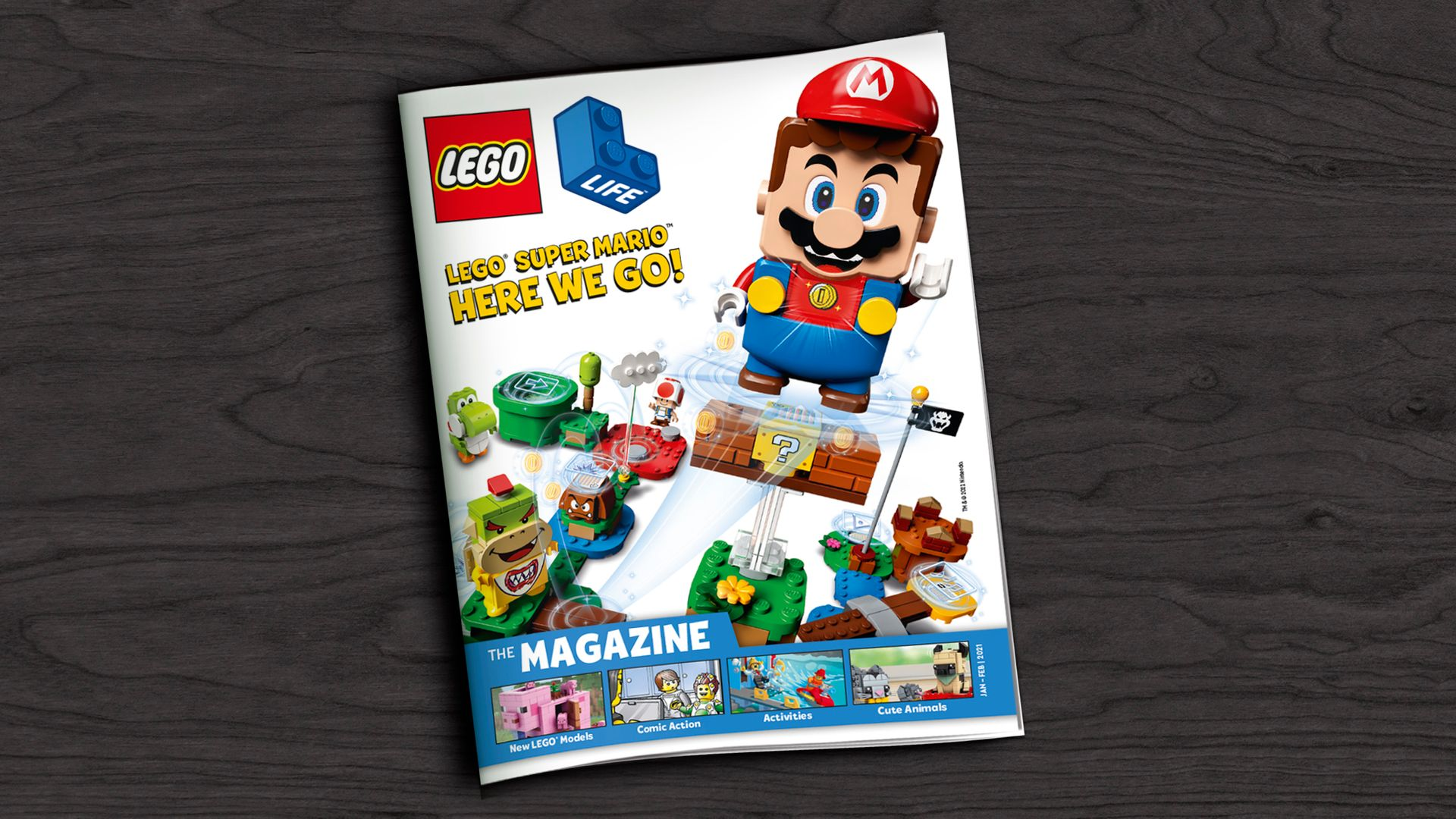 Kids can get a FREE LEGO® Life Magazine Subscription